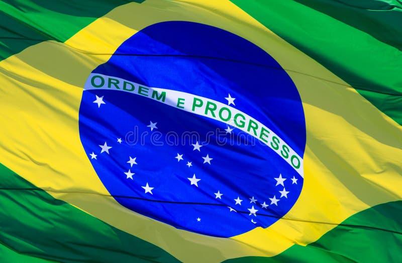 flaga brazylijskie obrazy stock