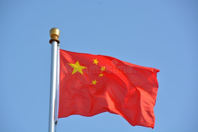 Flaga Chiny fotografia royalty free