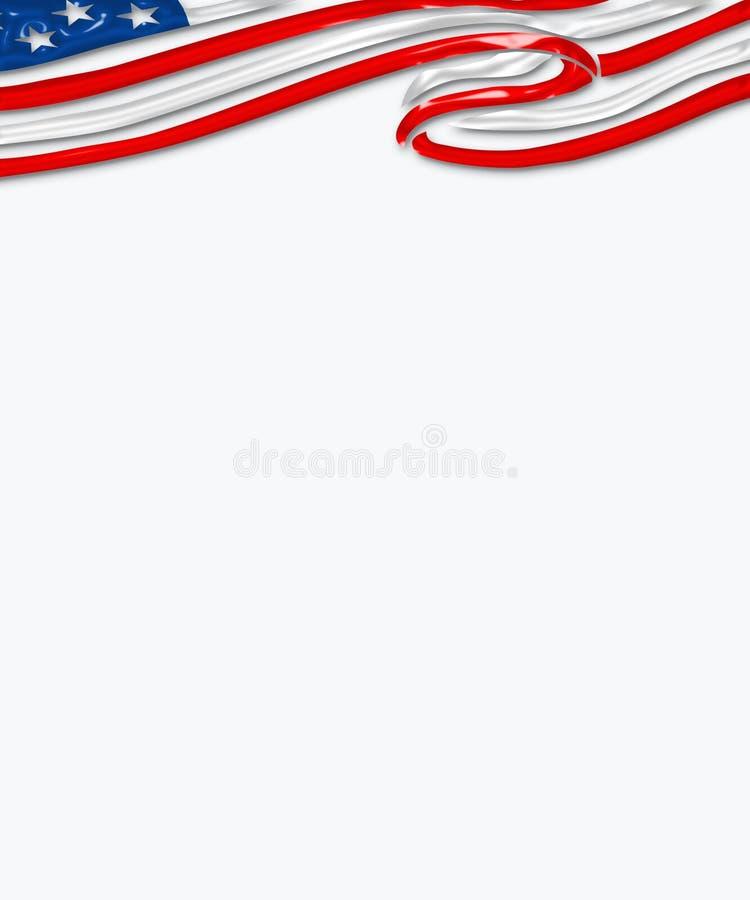 flaga cyfrowa ilustracji