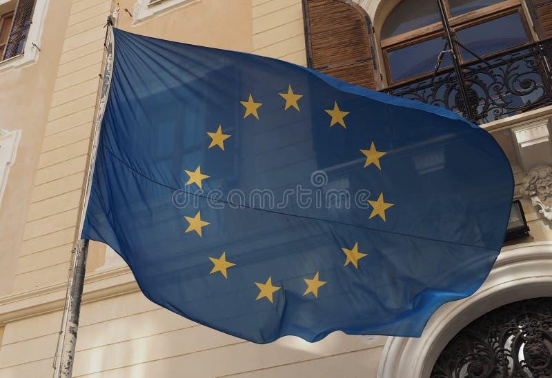 Flaga Europejski zjednoczenie (UE) zdjęcia stock