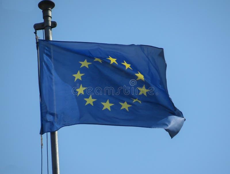 Flaga Europejskiego zjednoczenia UE obrazy stock