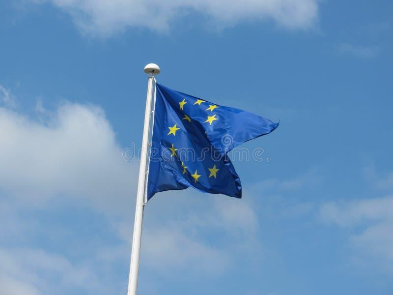 Flaga Europejskiego zjednoczenia UE fotografia stock