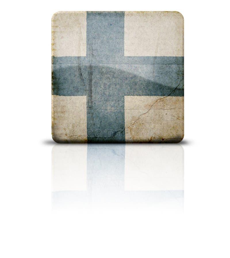 flaga finlandia ilustracja wektor
