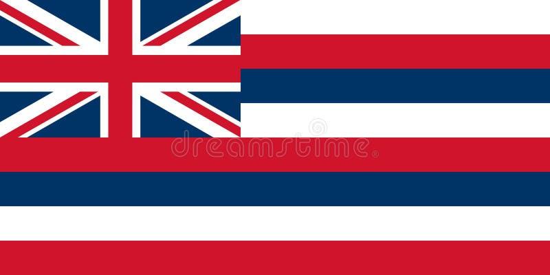 flaga Hawaii ilustracji