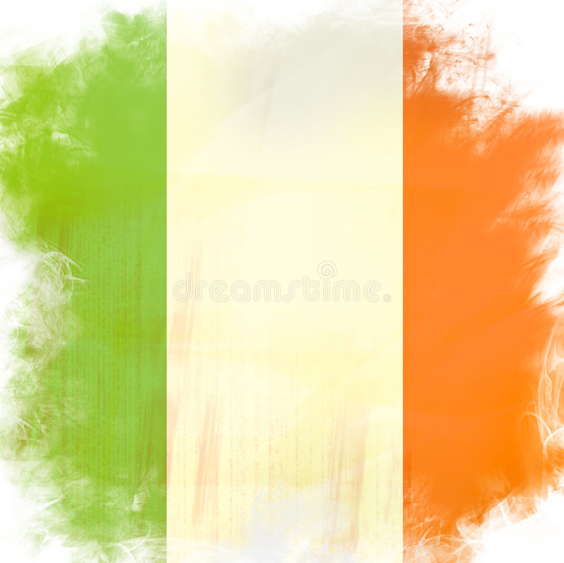 Download Flaga Ireland ilustracji. Obraz złożonej z flaga, diagram - 4321458