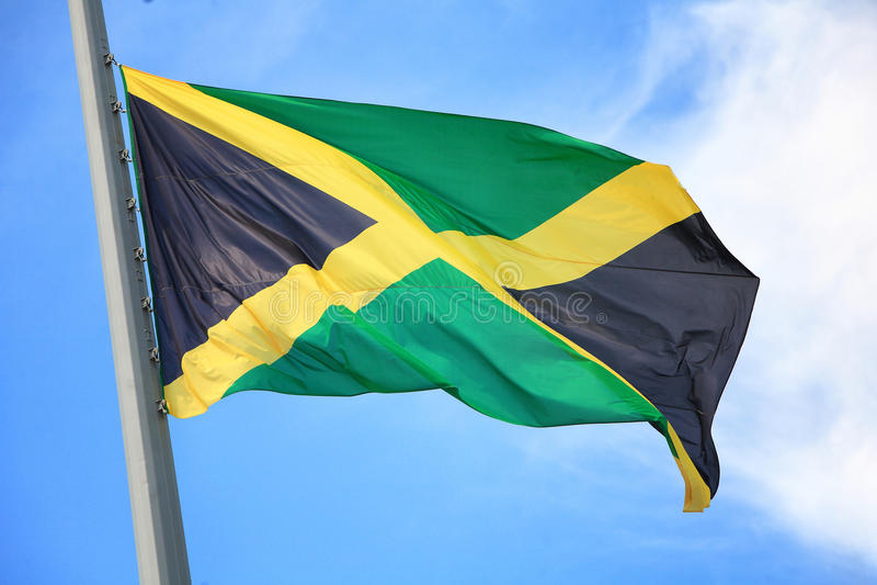 flaga jamajka fotografia stock