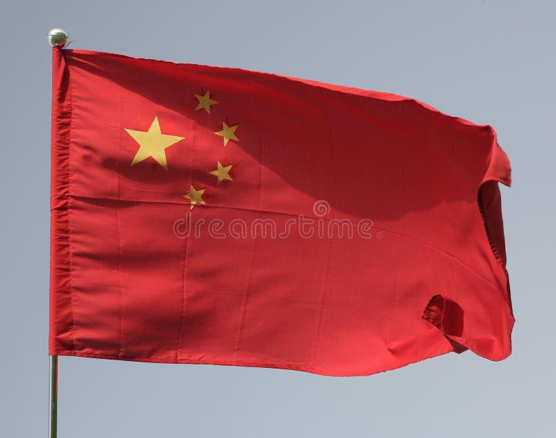 flaga jest porcelana zdjęcia royalty free