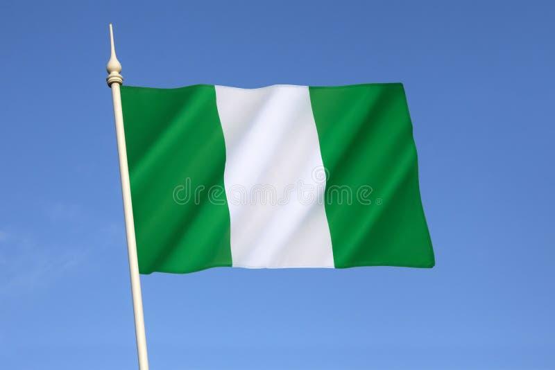 flaga Nigeria obrazy stock