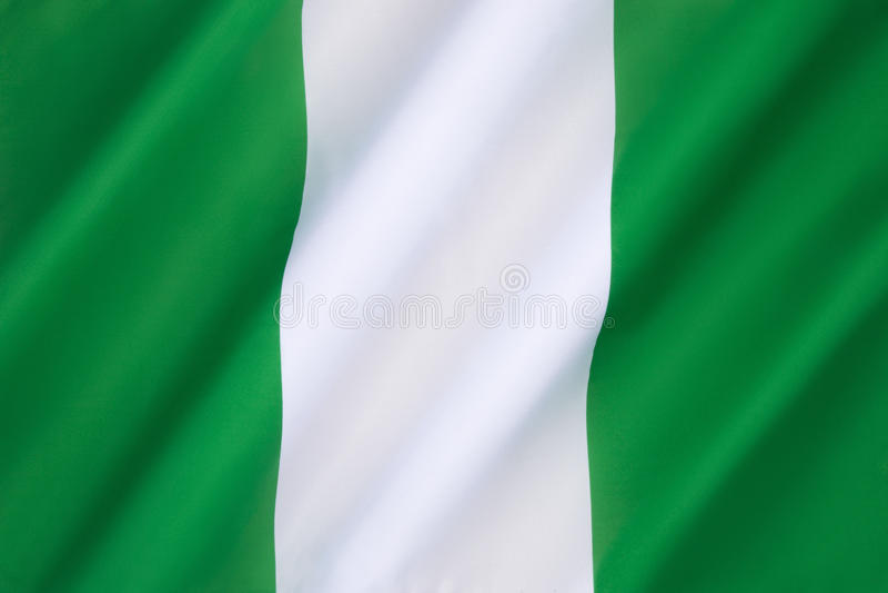 flaga Nigeria zdjęcia royalty free