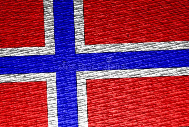 Flaga Norway royalty ilustracja
