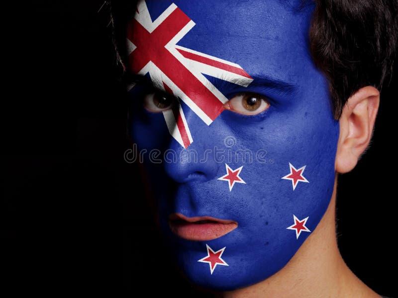 Flaga Nowa Zelandia obrazy royalty free