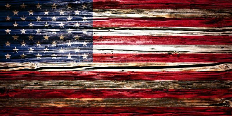Flaga państowowa drewniany tło, tekstura fotografia royalty free