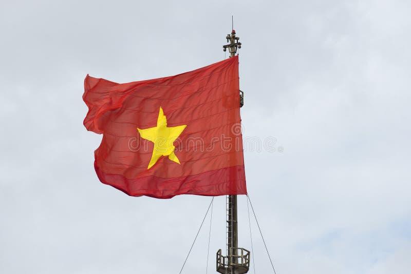 Flaga państowowa Wietnam zdjęcie royalty free