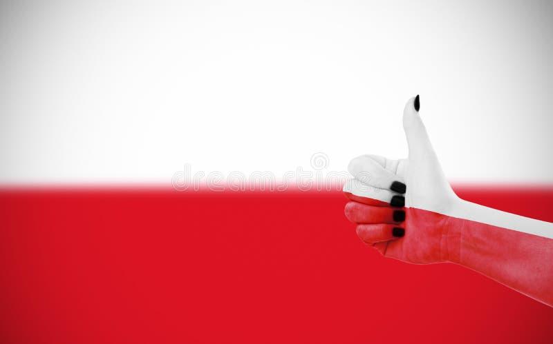 flaga Poland zdjęcie stock