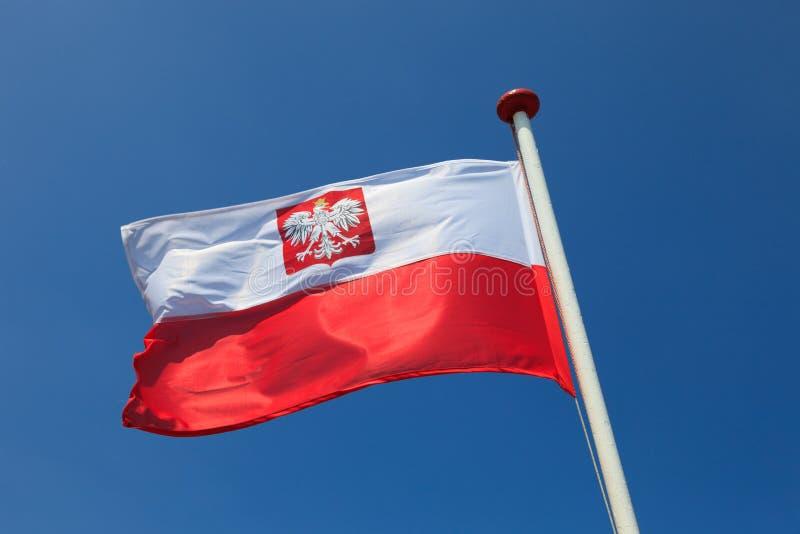 Flaga Polska zdjęcia royalty free