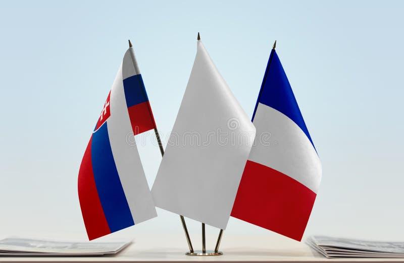 Flaga Sistani i Francja obrazy stock
