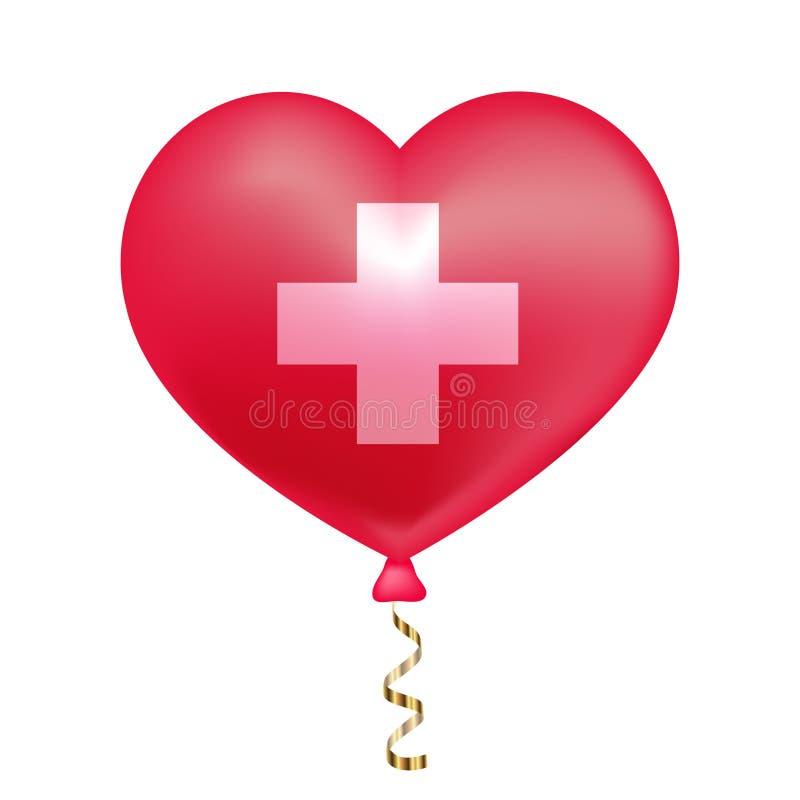 Flaga Szwajcaria w kierowym kszta?cie royalty ilustracja
