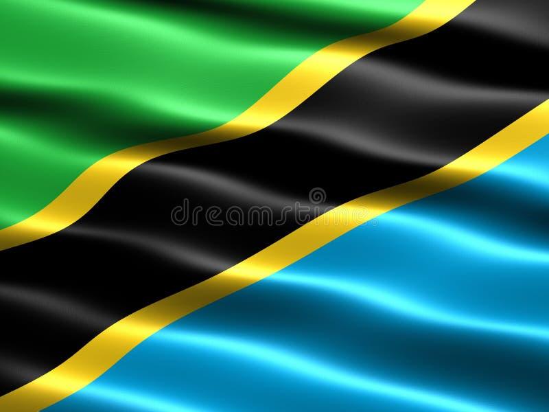 flaga Tanzanii