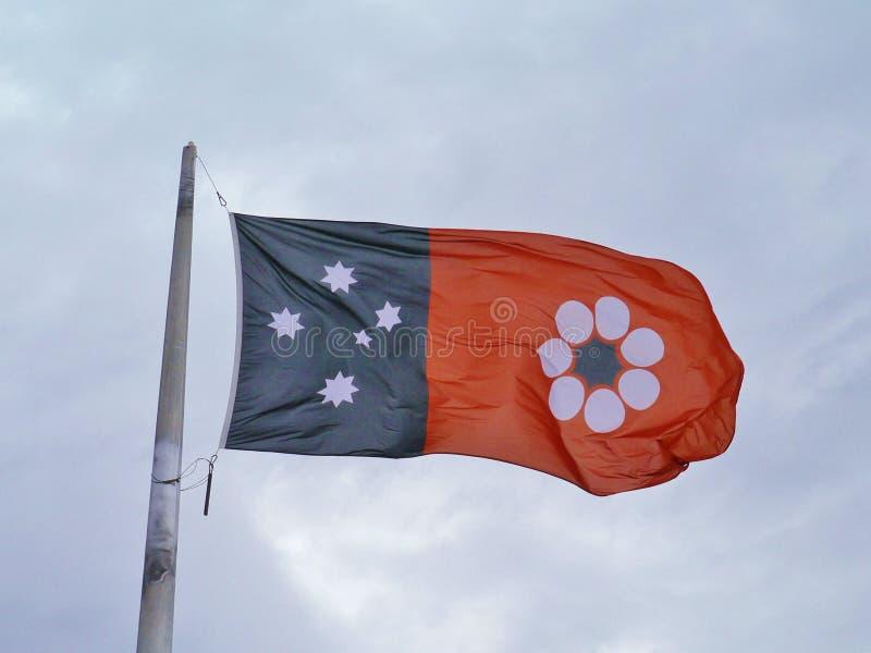 Flaga terytorium północni obraz royalty free