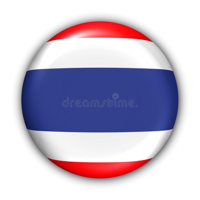 flaga Thailand ilustracja wektor
