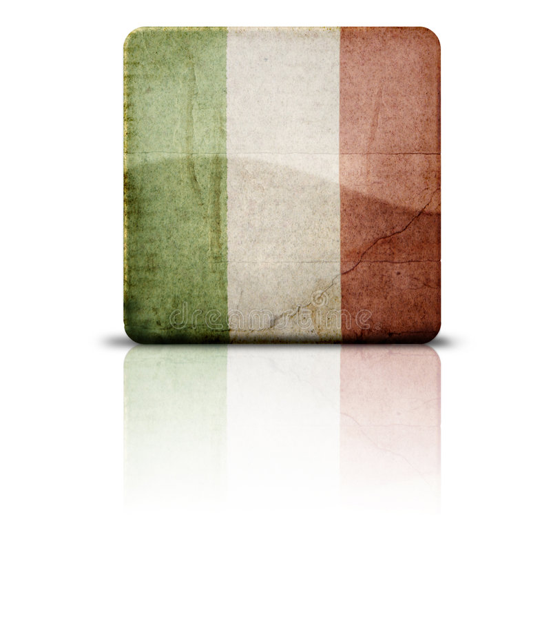 flaga Włochy obrazy royalty free