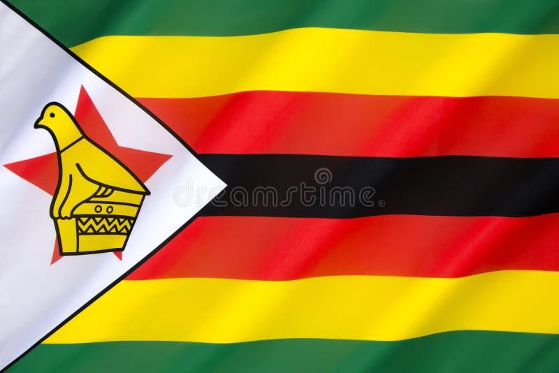 flaga Zimbabwe fotografia stock