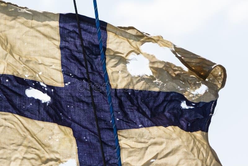 Flaga znaki żeglowań regattas i rasy zdjęcie royalty free