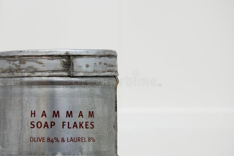 flagar hamamtvål arkivfoto