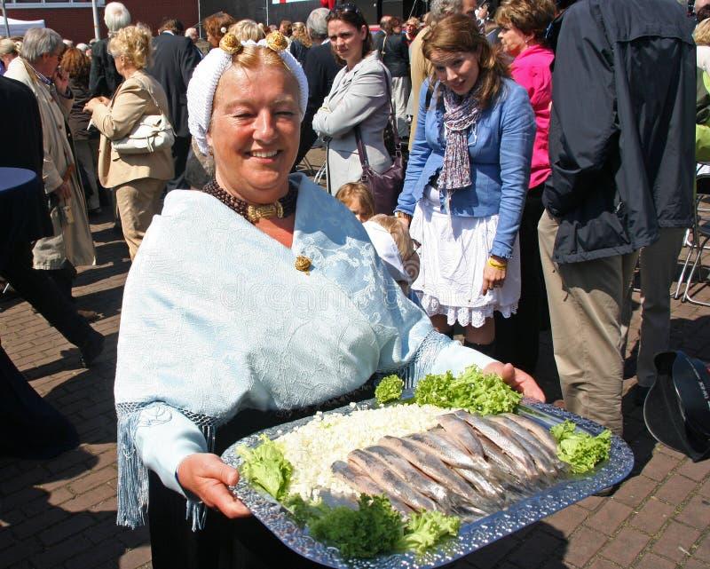 flagday Scheveningen στοκ φωτογραφίες