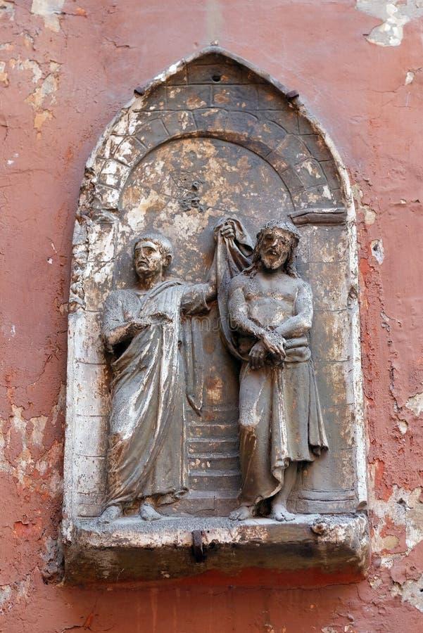 Flagellatie van Christus royalty-vrije stock afbeelding