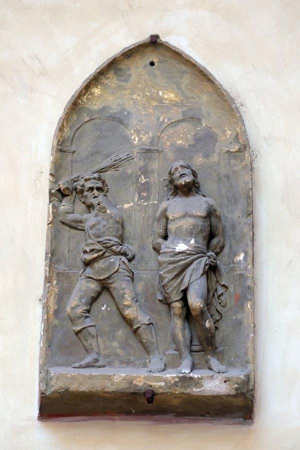 Flagellatie van Christus royalty-vrije stock foto's