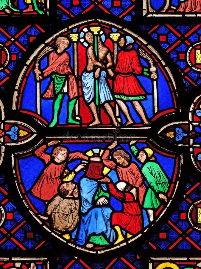 Flagellatie van Christus royalty-vrije stock fotografie