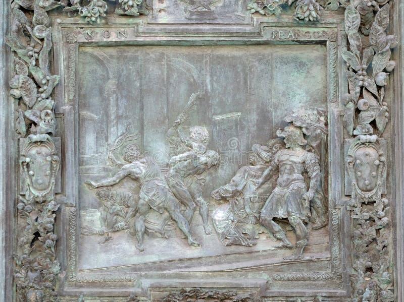 Flagellatie van Jesus Christ royalty-vrije stock foto