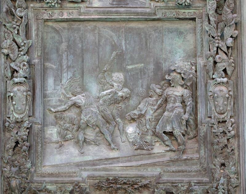Flagellatie van Jesus Christ royalty-vrije stock fotografie