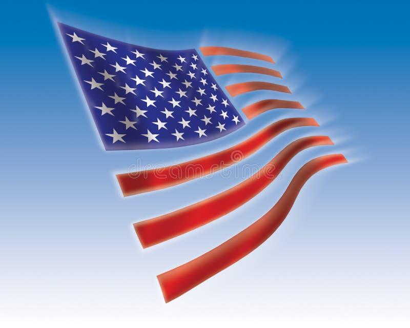 flagga stock illustrationer