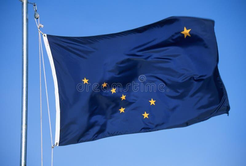 Flagga av Alaska royaltyfria foton