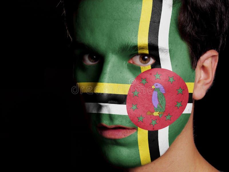 Flagga av Dominica arkivbilder