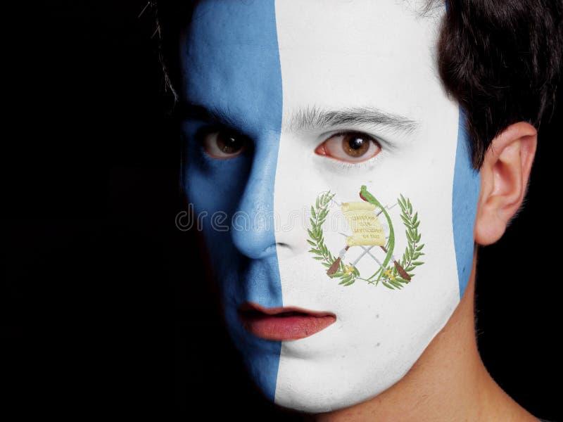 Flagga av Guatemala royaltyfri foto