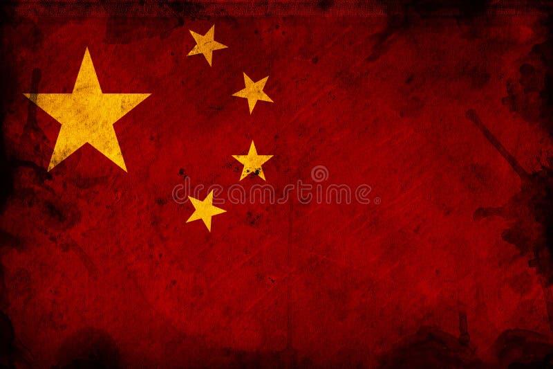 Flagga av Kina royaltyfri foto