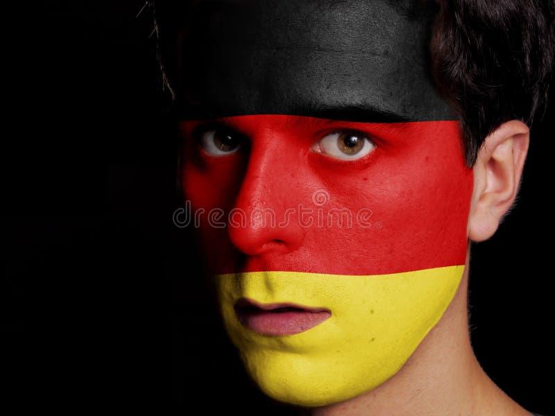 Flagga av Tyskland royaltyfria bilder
