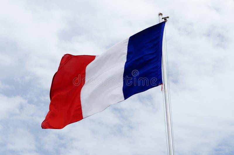 flagga france arkivfoto