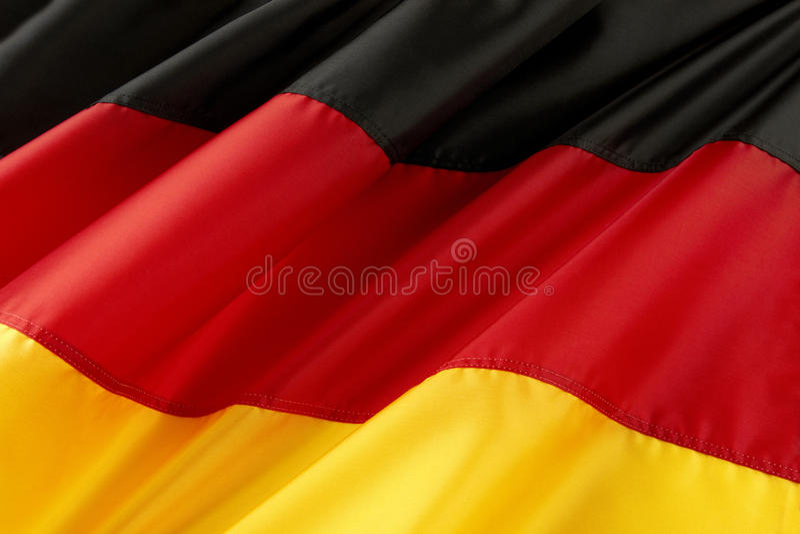 flagga germany arkivbild