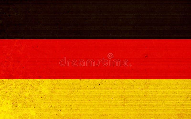 flagga germany vektor illustrationer