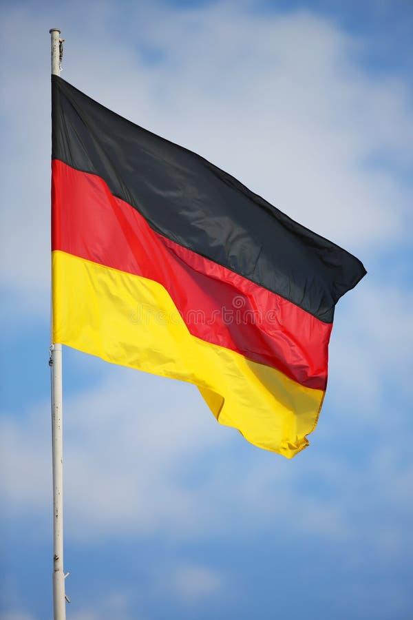 flagga germany arkivfoton