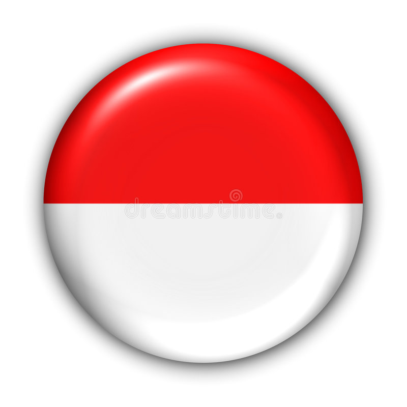 flagga indonesia royaltyfri illustrationer