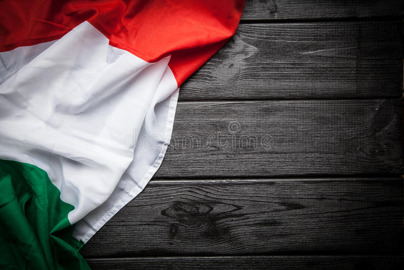 flagga italy royaltyfria bilder