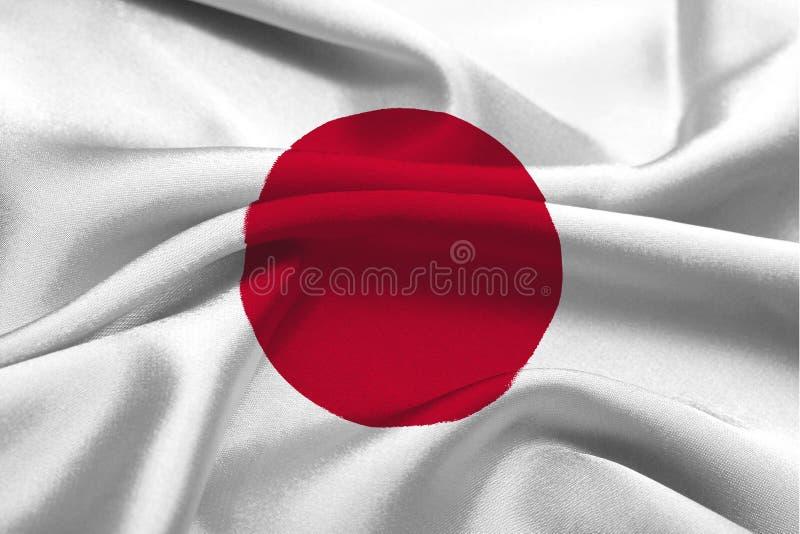 flagga japan royaltyfri fotografi