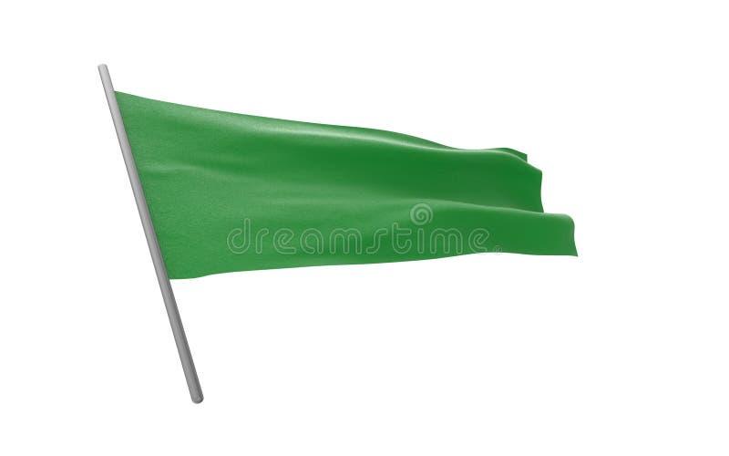 flagga libya vektor illustrationer