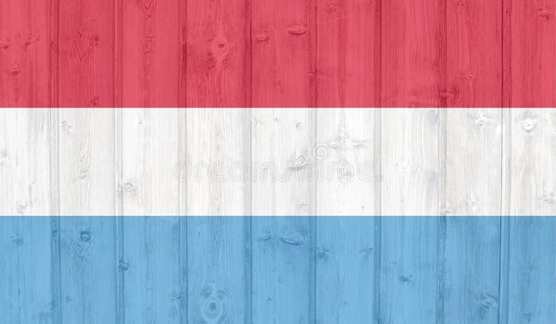 flagga luxembourg royaltyfri fotografi
