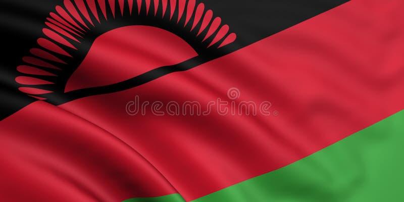 flagga malawi arkivfoto